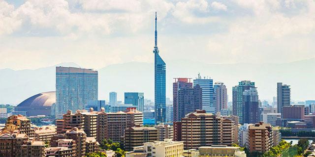 福岡(天神/博多)の街並み