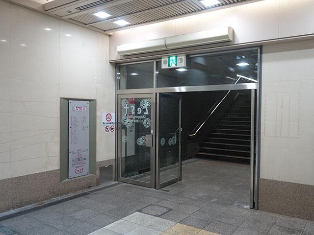 京都市役所前駅からのアクセス写真